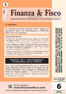 Finanza & Fisco n. 6 del 2021