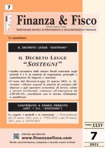 Finanza & Fisco n. 7 del 2021