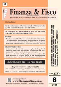 Finanza & Fisco n. 8 del 2021